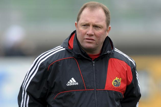 Rugby: Munster Head Coach Tony McGahan Set to Leave at the End of the Season