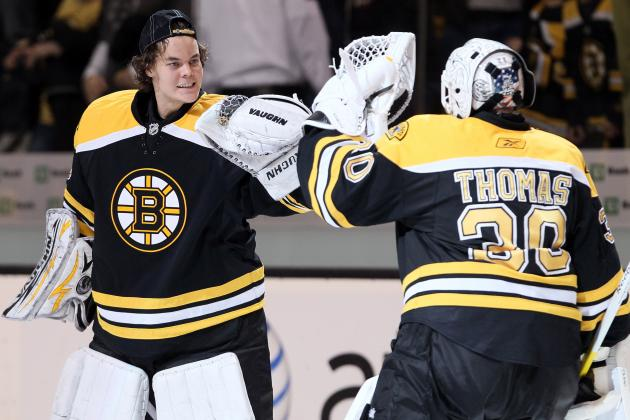 Boston Bruins: Tuukka Rask Slowly Progressing Towards Starting Job
