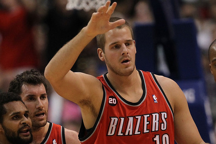 Free Agent Center Joel Przybilla Signs with Portland Trail Blazers