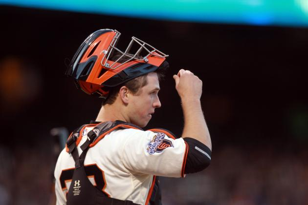 Giants Tell Buster Posey Not to Block the Plate; Why Should It Even Be a Risk?