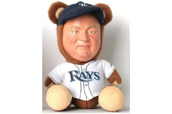 Tampa Bay Rays Don Zimmer Bear Is the Best Promotional Item in 2012