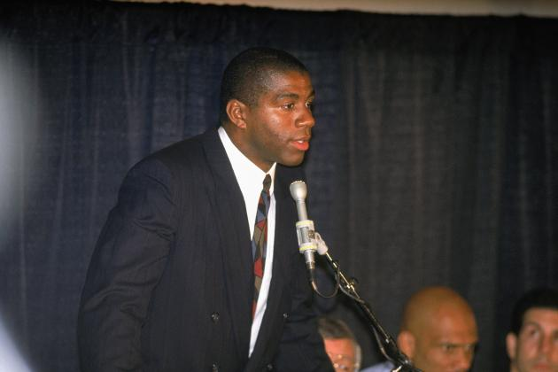 Magic Johnson 'Dishes' On ESPN Doc, Broadway Play