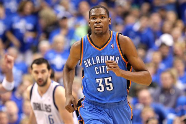 NBA All-Star Game 2012: Why the MVP Award Is Kevin Durant's to Lose