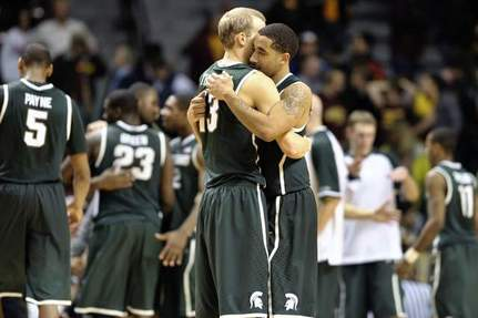 Brandon Wood Leads Michigan State Comeback over Minnesota