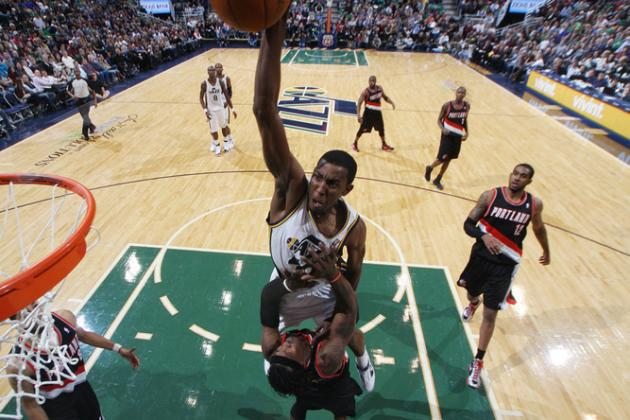 Jeremy Evans Slam Dunk Contest: Jazz' Forward Is Sleeper in Obscure Field