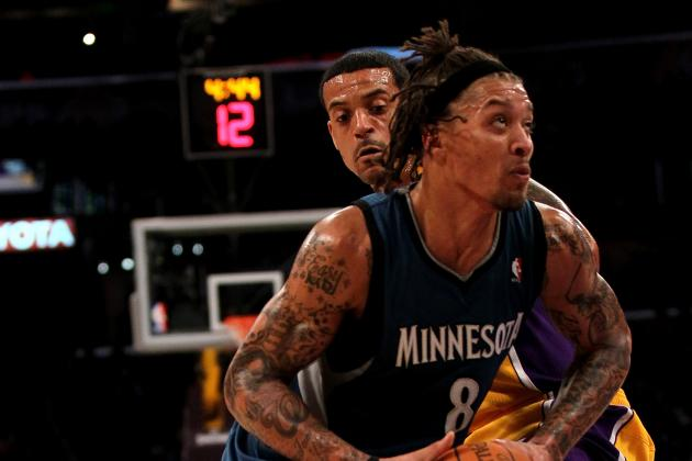 NBA Trade Rumors: Michael Beasley Worth the Risk for Los Angeles Lakers