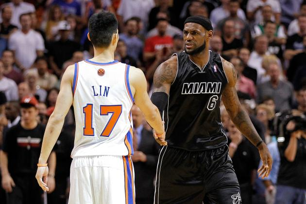 Knicks vs. Heat: LeBron James and the Miami Heat Destroy Jeremy Lin's Knicks