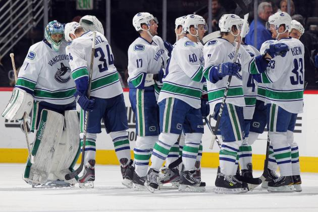 Vancouver Canucks Snap Detroit Red Wings 23-Game Home Winning Streak in Shootout
