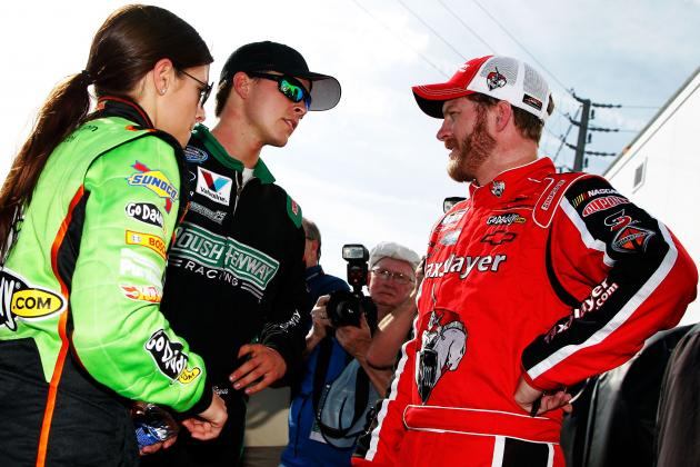 NASCAR Nationwide Race at Daytona All About Danica, Drama and Hot Storylines