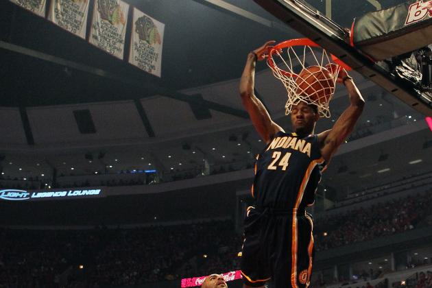 NBA Slam Dunk Contest 2012: Sickest Dunk from Each of This Year's Participants