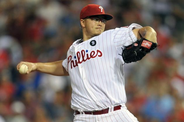 MLB Spring Training 2012: Phillies' Vance Worley Changing Things Up