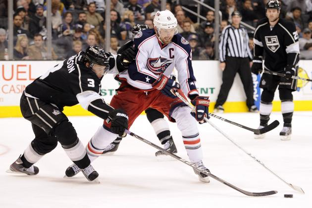 NHL Trade Deadline: Would a Jeff Carter-Rick Nash Combo Be Feasible for Kings?