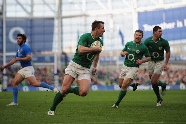 2012 Six Nations Rugby: Late First-Half Try Propels Ireland to Win over Italians