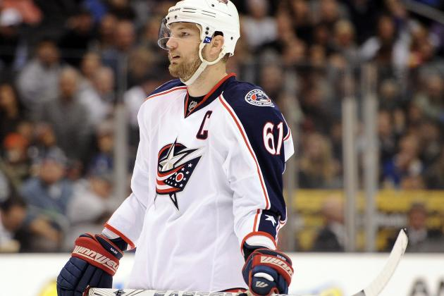 NHL Trade Rumors: Predicting Where Rick Nash Will Land