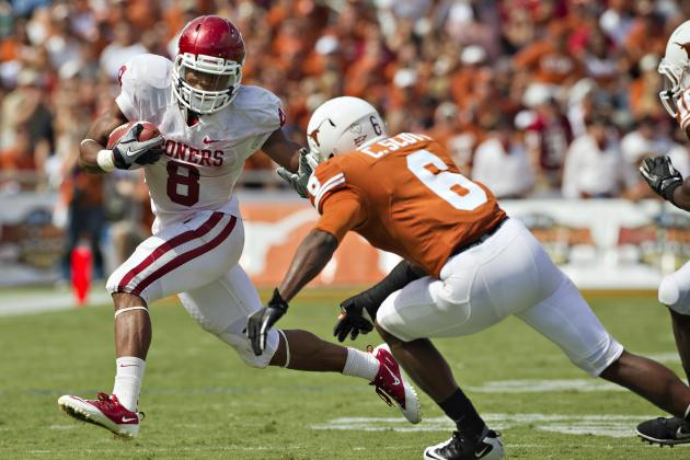 Oklahoma Football: Sooners' 2012 Run Game Teeming with Potential