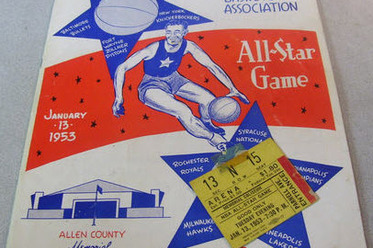 1953 NBA All-Star Game:  When Ft. Wayne Was Center of Hoops Universe