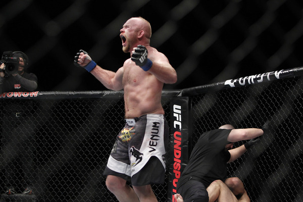 UFC 144 Results: Tim Boetsch Defeats Yushin Okami by Round 3 TKO