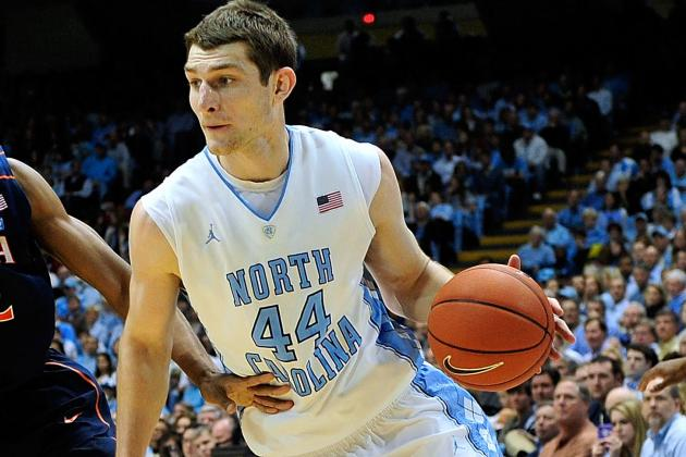 North Carolina vs. UVA: Tyler Zeller Keeps Tar Heels on Course for Duke Finale