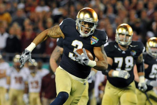 NFL Combine 2012 Results: WR Michael Floyd's Stock Skyrockets After Blazing 40