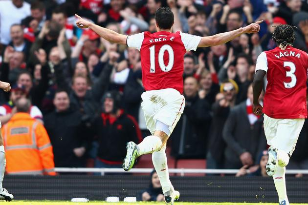 Robin Van Persie of Arsenal Is the Premier League's Best Player