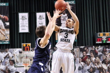 Cleveland State Defeats Wright State on Senior Day
