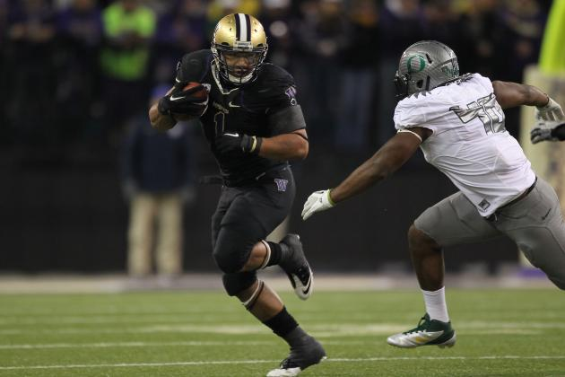 NFL Combine 2012 Results: Chris Polk Proves Why He's a First-Round Pick