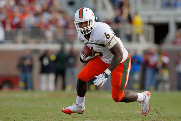 NFL Combine 2012: Lamar Miller and Playmakers Who Boosted Their Draft Stock