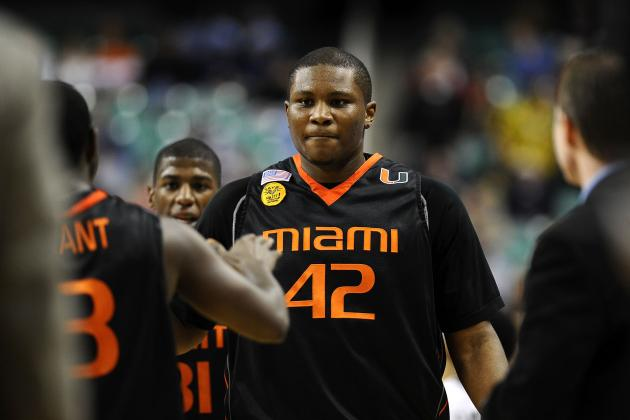 Miami Hurricanes Basketball: Center Reggie Johnson Has Been Declared Ineligible