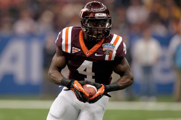 David Wilson Combine: Explosive RB's Big Day Will Shoot Him Up Draft Boards