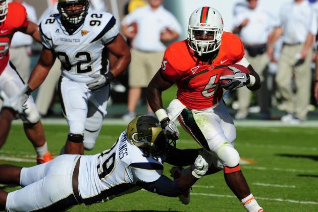 NFL Combine 2012 Results:Lamar Miller Sprints Up Draft Board