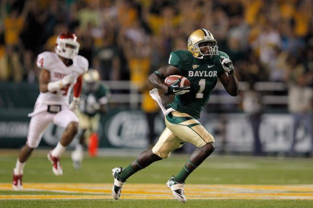 NFL Combine 2012: Baylor WR Kendall Wright Now a 2nd-Rounder After Bad 40 Time