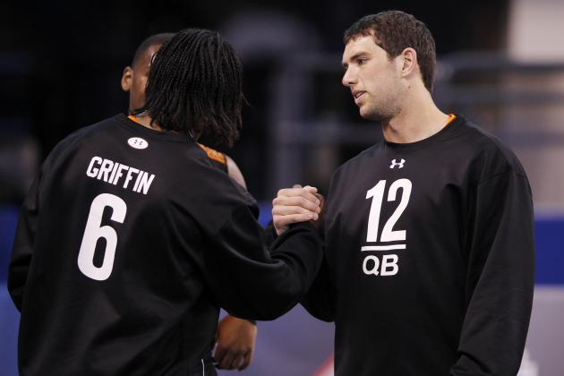 2012 NFL Draft: Luck and Robert Griffin III Hurt Stock by Not Throwing?