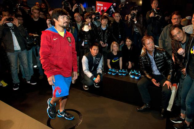 Manny Pacquiao Teaming Up with Michael Jordan Would Take Pacman to New Heights