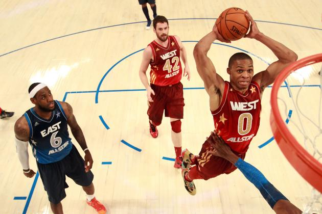 Kevin Durant Wants to See LeBron James, Derrick Rose in All-Star Dunk Contest