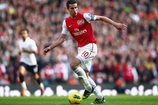 Arsenal's Robin Van Persie: Will He Be on the Move in the Summer?