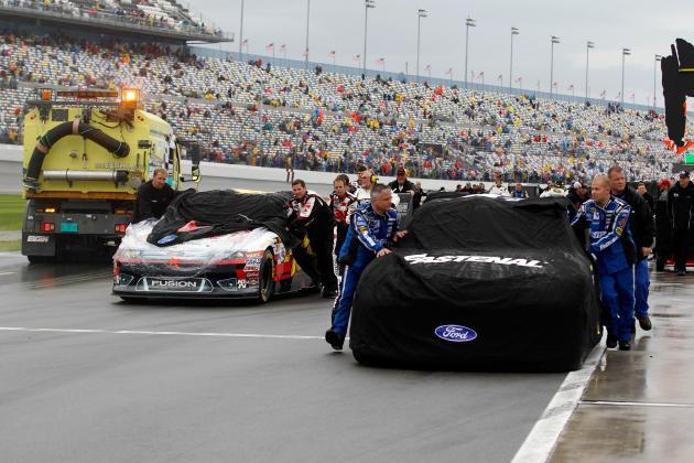 Daytona 500 Start Time: Rain Postpones Race to Prime Time Monday