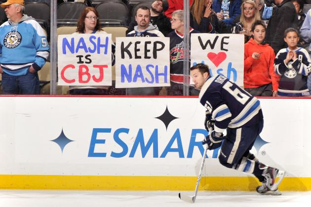 NHL Trade Deadline: Rick Nash Staying Put Sums Up Lackluster Day