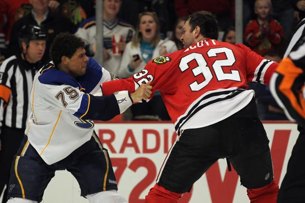 NHL Trade Deadline 2012: Chicago Blackhawks Have Lost Some Physical Edge
