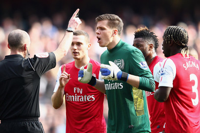 English Premier League and the Spectacle of Referees and Cheats
