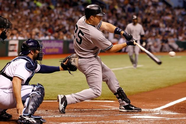 New York Yankees: Should Mark Teixeira Change His Approach at the Plate?