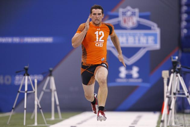 Comparing Andrew Luck's Combine Performance to Cam Newton's, Other Top QBs