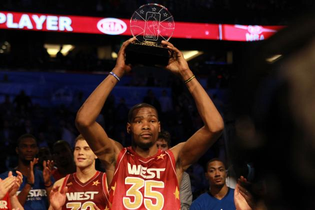 Kevin Durant Shows There's Still Some Life in NBA All-Star Game