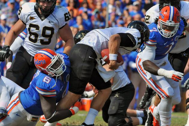 2012 NFL Draft: UF's Howard Could Be Great Late Option for Baltimore Ravens