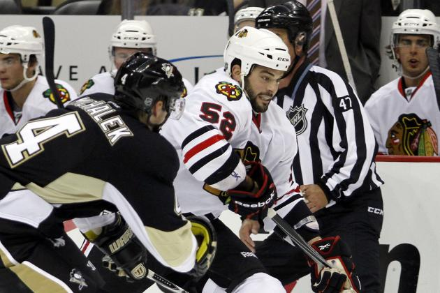 Chicago Blackhawks: Call Up of Brandon Bollig Should Add Punch Back at Forward