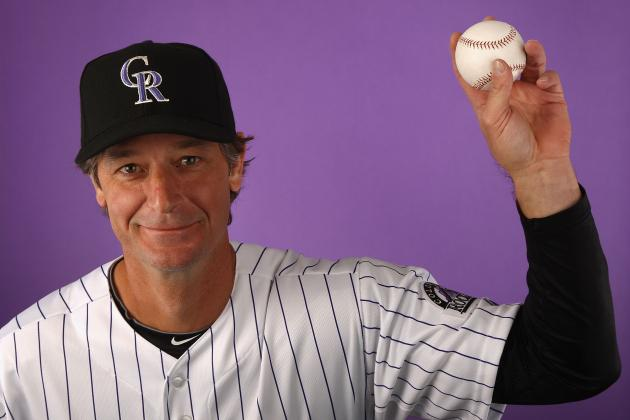 Jamie Moyer's 49-Year-Old Arm Passes First Test with Rockies
