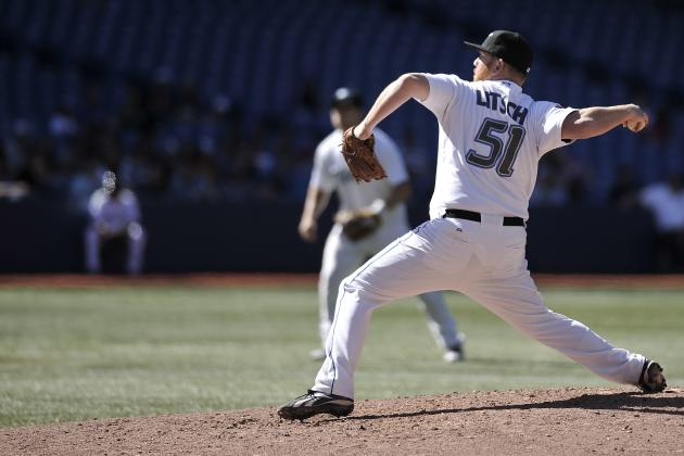 MLB Spring Training: Toronto Blue Jays Shut Down Jesse Litsch Due to Soreness