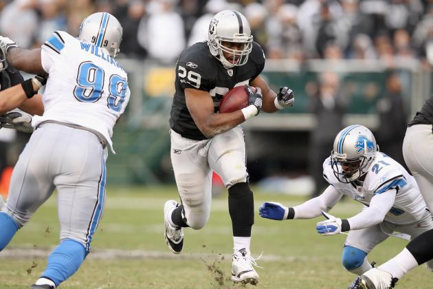 2012 NFL Free Agent Predictions: Michael Bush and 3 RBs Poised to Switch Teams