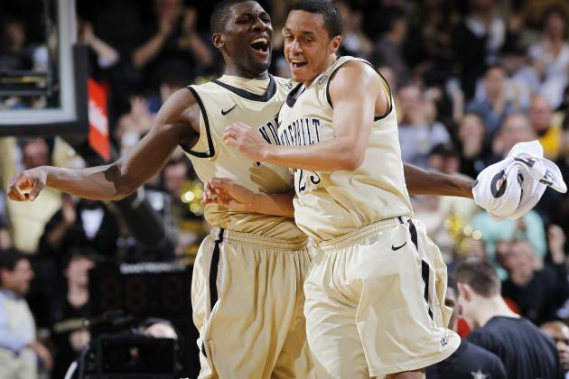 Vandy Upsets No. 16 Florida 77-67 in Home Finale