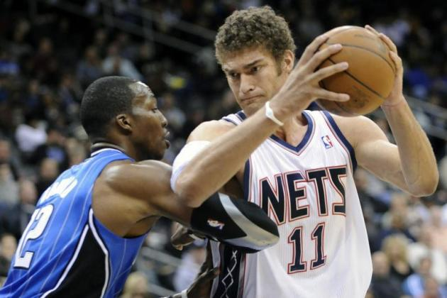 Dwight Howard Trade Rumors: Brook Lopez Shows He's the Best Option for the Magic