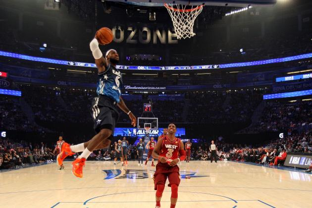 NBA Dunk Contest Needs Star Power Like LeBron James & John Wall